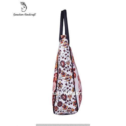 Purse Satchel Bags Bag Handmade Designer Simple Bag Cosmetic Shoulder Bags Top Shopping Indian Bags Top Handle Handle Bags Tote Tapestry Handbag Bohemian Fashion Beach Pax1xqZw