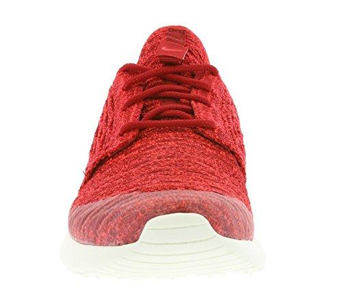 Nike Wmns Roshe One Flyknit, Zapatillas de Deporte para Mujer Rojo (Gym Red / Brght Crimson-Tm Rd-Sl)