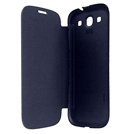 TfPro Bell Premium Leather Finish Flip Case Cover For Lava Iris 402   Black <span available at Amazon for Rs.175