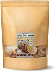 Biojoy Ekologiska Ananasringar, naturliga & svavelfira (1 kg)