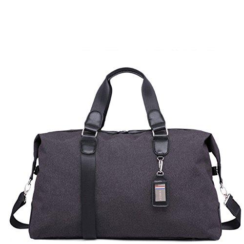 Bolsa de equipaje/bolsa de viaje a granel/bolso del mensajero de nylon de la lona-gris gris