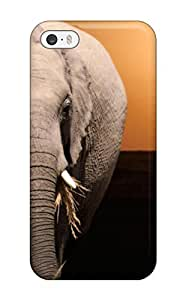 New Style 4812630K780468613 sunset elephant animal Anime Pop Culture Hard Plastic iPhone 5/5s cases by icecream design