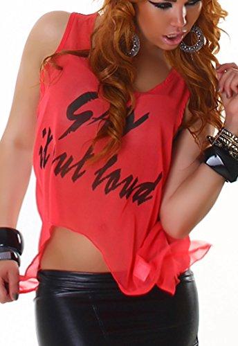 qdcpannacher - Camiseta sin mangas - para mujer albaricoque
