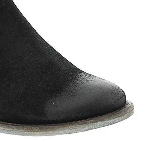Högl, 102512-0100, Stiefelette Damen, Schwarz/schwarz