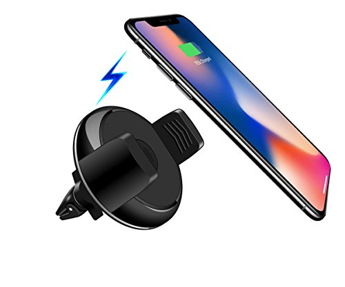 Price comparison product image iPhone X/8/10 wireless car charger,wireless car charging bracket,iPhone X Car wireless charger,iPhone 8 Car wireless charger,Fast car wireless charger