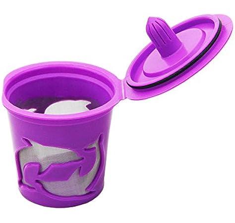 Cápsulas de filtro de café K-cup rellenables y reutilizables para ...