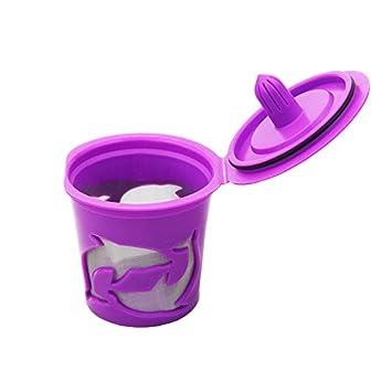 Cápsulas de filtro de café K-cup rellenables y reutilizables para Keuring 1.0 y 1.2; 5 unidades: Amazon.es: Hogar