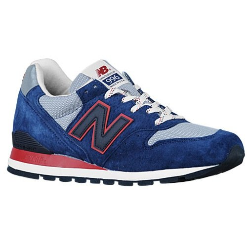 (New Balance Men's Connoisseur East Cost Summer 996 Classic Blue/Grey/Red M996CMB (Size: 8) )