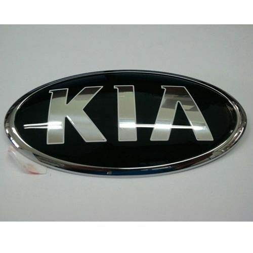 (Kia Motors OEM Genuine 863201W250 Front Hood KIA Logo Emblem 1-pc For 2014 2015 Kia Forte : K3 )