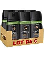 Faites des économies sur Axe Déodorant Spray Compressé Dark Temptation 0% Sels d'Aluminium, Pour Sentir Bon Toute la Journée, 100 ml - Pack de 6 et plus encore