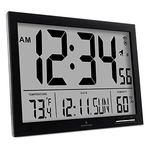 large wall clock digital - 4