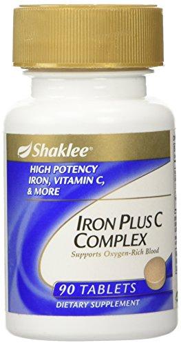 Shaklee Iron Plus C Complex 90 (Iron Plus Oxygen)