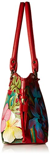 Island Escape Large Shopperbewitching Drawstring Blues Anuschka nqH8TYwn