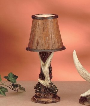 """Antler Décor Candle Lamp (11""""h)"""