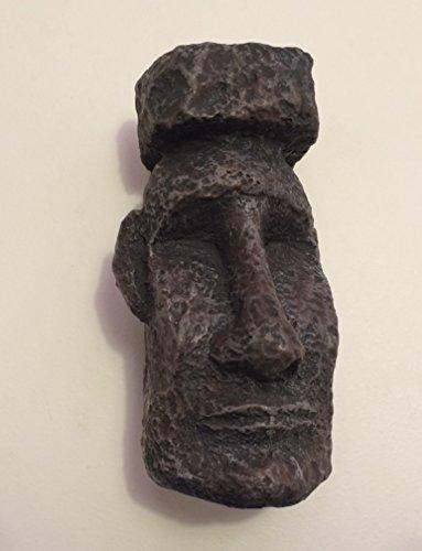 Top Fin Easter Island Stone Face Aquarium Decoration (Fin Top Aquarium Decorations)