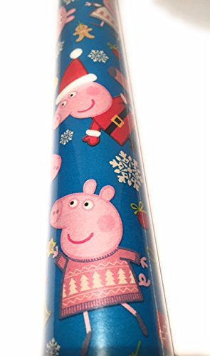Peppa Pig Children's Christmas Gift Wrapping Paper 40