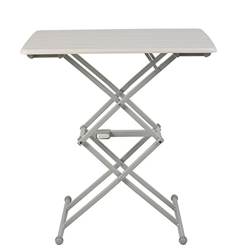 Wei Hong Home Computer Desks Computer Desk Folding Table Dining Table Simple Household Table Desk Portable Lifting Table Free Installation