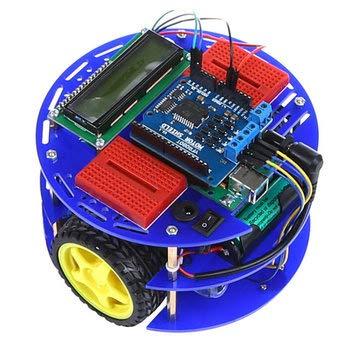 Robot-M Kit Smart Car Robot Kit For Open Source - Compatible SCM & DIY Kits Smart Robot & Solar Panel