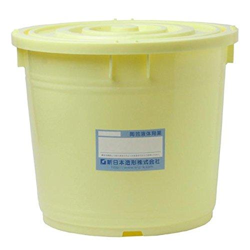 陶芸 液体釉薬 10L 黄瀬戸釉 B01LAK8E2Y