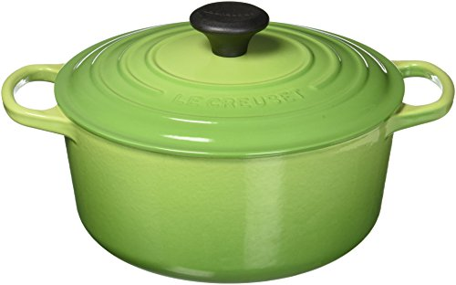 - Le Creuset 4.5 Quart Signature Round French Oven Palm Roasting Pan