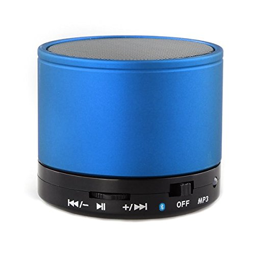 201 opinioni per fitTek JL-510T Blu Bluetooth Cassa Altoparlante Speaker Stereo 10mt TF x MP3 MP4