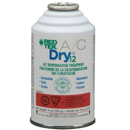 RED TEK Dry12 A/C Dehydration Treatment (4 oz. can) - CASE OF 12 by RED TEK