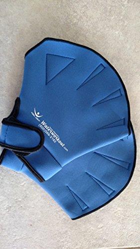 Water Aerobics Aqua Fit Swim Training Neoprene Webbed Gloves Size M/L