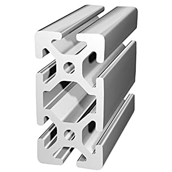 80/20 Inc , 40-4080, 40 Series, 40mm x 80mm T-Slotted Extrusion x 610mm