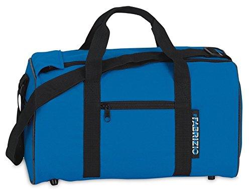 Fabrizio Jungen Mädchen Kinder Sporttasche Freizeittasche Reisetasche, california blau, 39 x 21 x 18 cm