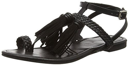 Spot On F0950, WomenS Sandals Negro (Black)