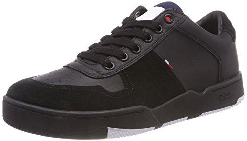 Basket Sneaker Hilfiger Black Uomo Ginnastica Scarpe 990 Denim Nero da Basse Ax775a