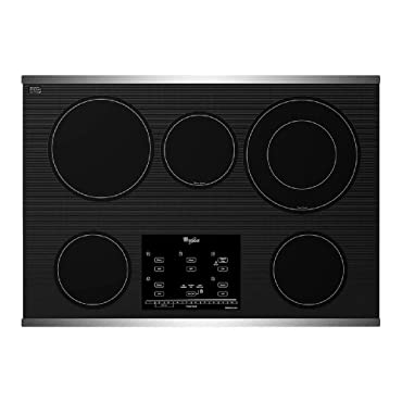 Whirlpool G9CE3065XS Gold 30 Stainless Steel Electric Smoothtop Cooktop