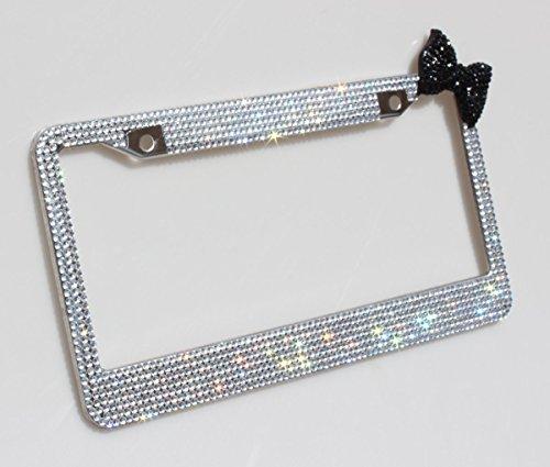cute black license plate frames - 8