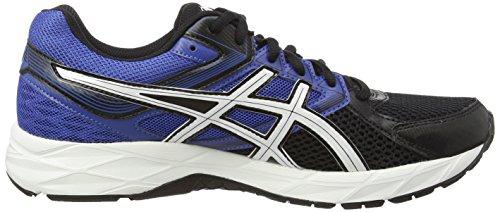 ASICS Gel-Contend 3 - Zapatillas para hombre Negro (Black/White/Blue 9001)
