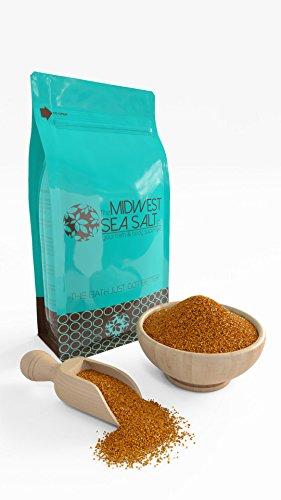 Dark Chocolate Mediterranean Sea Bath Salt Soak - 5lb (Bulk) - Fine Grain