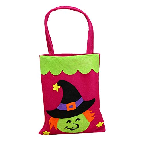 Sweet Candy - 1pc Candy Bag Halloween Bags Trick Or Treat With Decoration Sack Gift Witch - Japanese Sweet Treat Heart Woman Bags 20 Cotton Bag Compress Snack Sash Gold Bowknot Pack Sack Zip