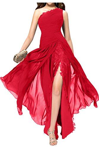 Topkleider - Vestido - trapecio - para mujer Rojo