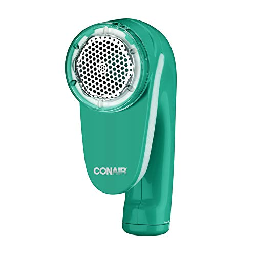 Conair Fabric Defuzzer - Shaver, Battery Operated, Green