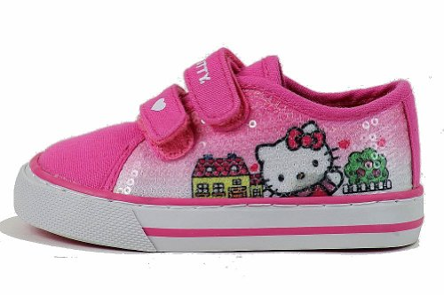 Bonjour Kitty Filles Mode Sneakers Hk Paige Chaussures Ar3420 Rose