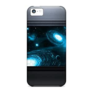 KvC5902DuEF Space Fashion 5c Cases Covers For Iphone
