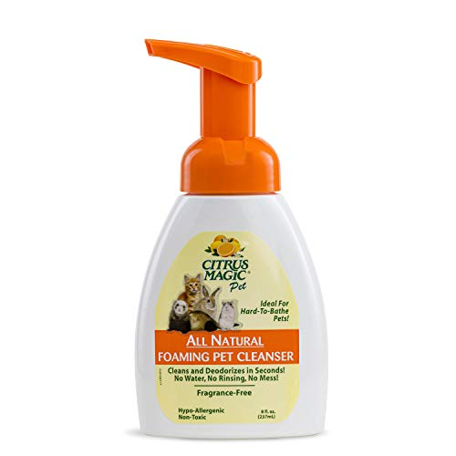 Citrus Magic Pet Foaming Pet Cleaner, 8-Fluid Ounce