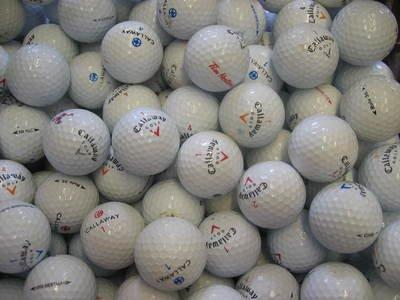50 Assorted Callaway Golf Balls AAA/AA Grade - Lakeballs