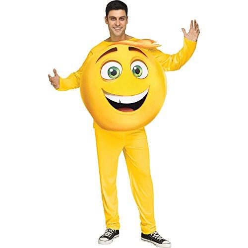 Adult Emoji Movie Gene Halloween Costume