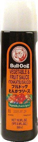 Bull-Dog Tonkatsu Sauce, 16.9-Ounce Units (Pack of (Bulldogs Hot Sauce)