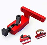 Miter Track Stop, Type 45 Woodworking Limiter for 45mm T-Slot T-Tracks Woodwork DIY Manual Tools