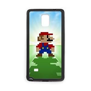 Super Mario Bros Samsung Galaxy Note 4 Cell Phone Case Black&Phone Accessory STC_057715