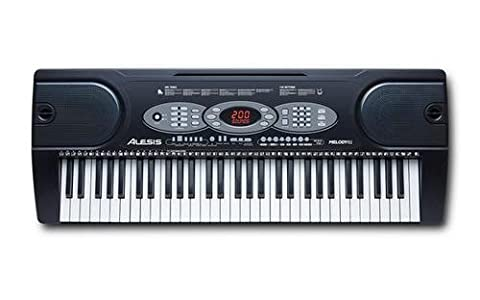 Alesis Melody 61 Beginner Bundle | 61-Key Portable Keyboard with Stand, Bench, Headphones, and (Strumenti musicali)