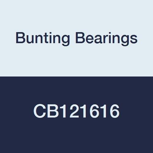 (Bunting Bearings CB121616 Sleeve (Plain) Bearings, Cast Bronze C93200 (SAE 660), 3/4