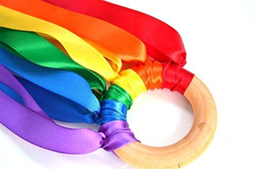 Rainbow Hand Kite Ribbon Runner