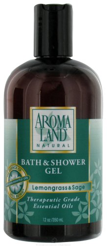Lemongrass & Sage - Bath & Shower Gel 12 oz.